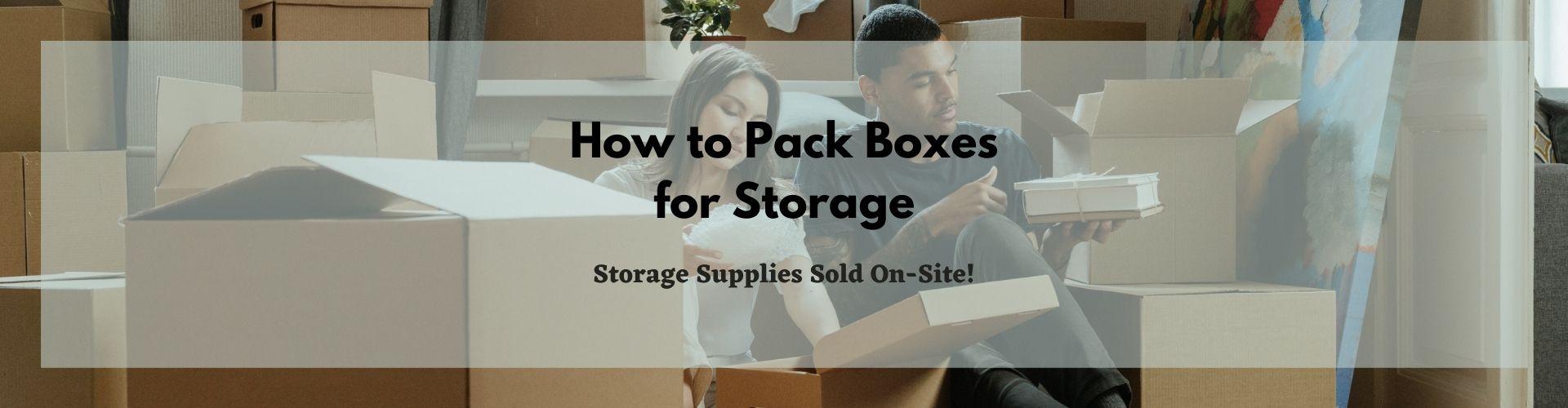 Storage Supplies YEC